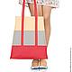 """Женские сумки ручной работы. Ярмарка Мастеров - ручная работа. Купить Большая красная сумка """"Lucky Alice"""". Handmade. Сумка"""