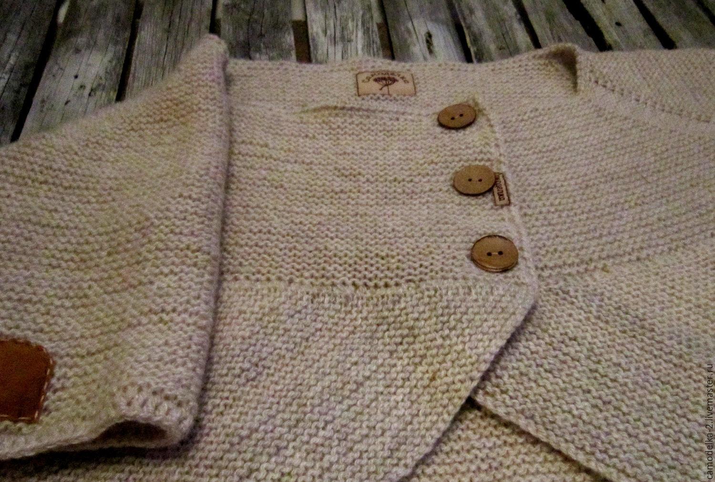 Джемпер из вязаного трикотажа 530737 доставка