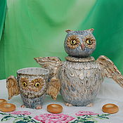 Посуда handmade. Livemaster - original item Kettle and Cup