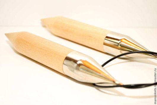 Вязание ручной работы. Ярмарка Мастеров - ручная работа. Купить Спицы кольцевые  25 мм, длина 60см. Handmade. Спицы
