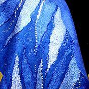 """Палантины ручной работы. Ярмарка Мастеров - ручная работа Палантин валяный """"Подарок для королевы"""". Handmade."""