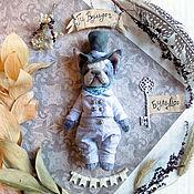 Куклы и игрушки ручной работы. Ярмарка Мастеров - ручная работа Ги  Буль-Дог Карманный,  мини-пес Тедди. Handmade.