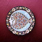 Тарелки ручной работы. Ярмарка Мастеров - ручная работа Декоративная керамика, майолика. Handmade.