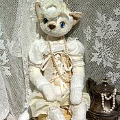 """Куклы и игрушки ручной работы. Ярмарка Мастеров - ручная работа Кошка""""Таисия""""для Hugglets. Handmade."""