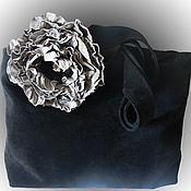 Сумки и аксессуары handmade. Livemaster - original item Suede bag