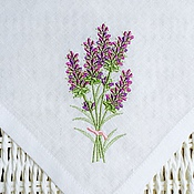 Для дома и интерьера handmade. Livemaster - original item Napkin with embroidery