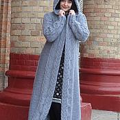Одежда ручной работы. Ярмарка Мастеров - ручная работа вязаное пальто ЛИСТОПАД. Handmade.