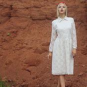 """Одежда ручной работы. Ярмарка Мастеров - ручная работа Платье """"Клюква в сахаре"""". Handmade."""