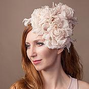 Свадебный салон ручной работы. Ярмарка Мастеров - ручная работа Свадебная шляпка. Handmade.