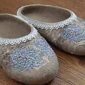 """Обувь ручной работы. Ярмарка Мастеров - ручная работа Тапочки """"Леля"""". Handmade."""