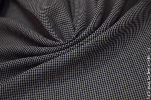 Шитье ручной работы. Ярмарка Мастеров - ручная работа. Купить Лен 02-003-2638. Handmade. Тёмно-синий