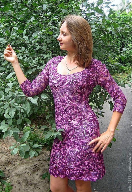 """Платья ручной работы. Ярмарка Мастеров - ручная работа. Купить Платье """"Флокса"""". Handmade. Ирландское кружево, нарядное платье"""
