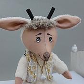 Куклы и игрушки ручной работы. Ярмарка Мастеров - ручная работа Новогодний Козлик. Handmade.