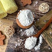 Косметика ручной работы handmade. Livemaster - original item Powder for washing dry and sensitive skin Oatmeal. Handmade.