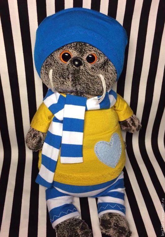 Одежда для кукол ручной работы. Ярмарка Мастеров - ручная работа. Купить Одежда для Басика. Handmade. Комбинированный, басик
