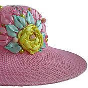 Аксессуары handmade. Livemaster - original item Hat TEA ROSE. Handmade.