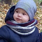 Работы для детей, ручной работы. Ярмарка Мастеров - ручная работа Детский шарф снуд на заказ. Handmade.