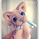 Мишки Тедди ручной работы. Ярмарка Мастеров - ручная работа. Купить котёнок окраса лайлак-пойнт. Handmade. Бледно-сиреневый