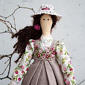 Куклы и игрушки ручной работы. Ярмарка Мастеров - ручная работа Кукла тильда Полина, текстильная кукла, интерьерная кукла. Handmade.