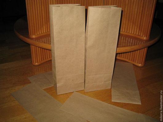 Упаковка ручной работы. Ярмарка Мастеров - ручная работа. Купить Крафт пакет 35х12х8 см. Handmade. Крафт-пакет
