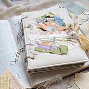 Подарки к праздникам handmade. Livemaster - original item Scrapbook album diary