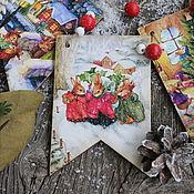 """Гирлянды ручной работы. Ярмарка Мастеров - ручная работа Гирлянда """"Сказочный лес"""". Handmade."""