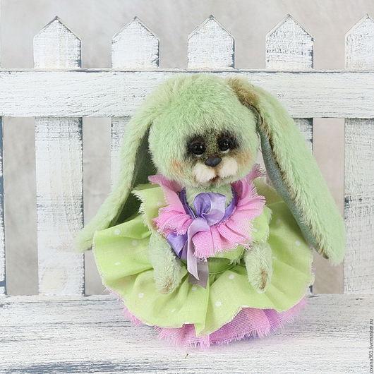"""Мишки Тедди ручной работы. Ярмарка Мастеров - ручная работа. Купить Заяц друзья  Тедди """" зая  Майя """". Handmade."""