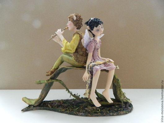 Коллекционные куклы ручной работы. Ярмарка Мастеров - ручная работа. Купить Мелодия вечерних сумерек. Handmade. Бледно-сиреневый