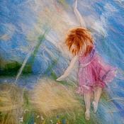 Картины и панно ручной работы. Ярмарка Мастеров - ручная работа Дотянись до радуги. Handmade.
