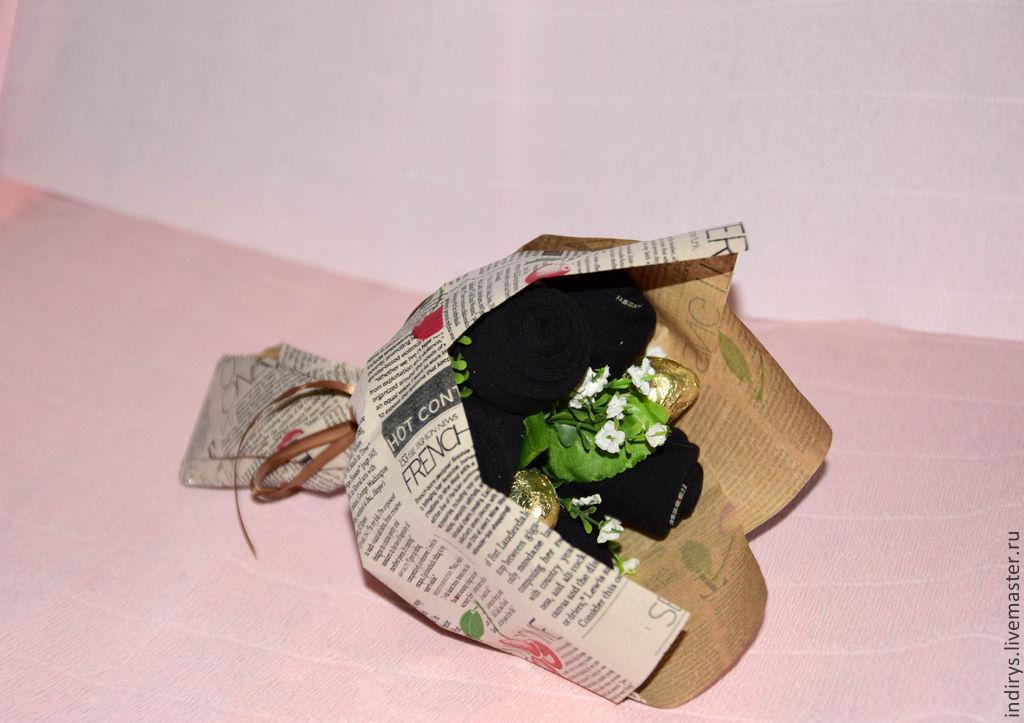 b0ba7df9f108 Персональные подарки ручной работы. Ярмарка Мастеров - ручная работа.  Купить Букет из носков в ...