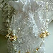 Свадебный салон ручной работы. Ярмарка Мастеров - ручная работа Свадебная сумочка для невесты.. Handmade.