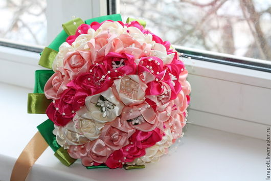 Свадебные цветы ручной работы. Ярмарка Мастеров - ручная работа. Купить Букет невесты. Handmade. Букет цветов, букет в подарок