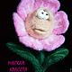"""Персональные подарки ручной работы. Подарок на 8 марта игрушка войлочная цветок """"Застенчивая Анемона"""". Мягкая красота. Интернет-магазин Ярмарка Мастеров."""