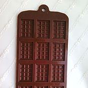 """Инструменты ручной работы. Ярмарка Мастеров - ручная работа Силиконовая форма  """"Шоколад"""". Handmade."""