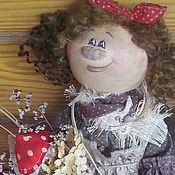 Куклы и игрушки ручной работы. Ярмарка Мастеров - ручная работа Бохо-ежка - босые ножки. Handmade.