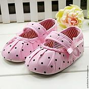 Материалы для творчества ручной работы. Ярмарка Мастеров - ручная работа 0019 Обувь для кукол для реборнов. Handmade.