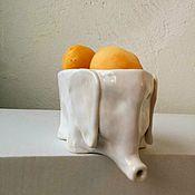 Посуда ручной работы. Ярмарка Мастеров - ручная работа Слон. Для ягод и фруктов. Керамика.. Handmade.