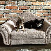 """Для домашних животных, ручной работы. Ярмарка Мастеров - ручная работа Диванчик для собаки """"Айседора"""". Handmade."""