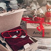Украшения handmade. Livemaster - original item Bracelet-thread: The second wing bracelet with wing, 925 sterling silver. Handmade.