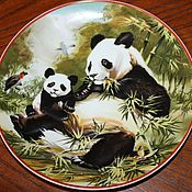 Винтаж handmade. Livemaster - original item Collectible plates, Villeroy & Boch, WWF, Germany. Handmade.