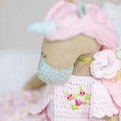 Куклы и игрушки ручной работы. Ярмарка Мастеров - ручная работа Единорог Розовый. Handmade.