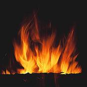 """Картины и панно ручной работы. Ярмарка Мастеров - ручная работа Фотокартина """"Танцующий огонь"""" (3). Handmade."""