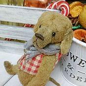 Куклы и игрушки handmade. Livemaster - original item Dog Teddy 15 cm. Handmade.