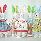 Куклы и игрушки ручной работы. Ярмарка Мастеров - ручная работа Летние зайцы. Handmade.