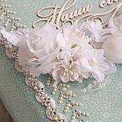 Свадебный салон ручной работы. Ярмарка Мастеров - ручная работа Свадебный альбом на заказ. Handmade.