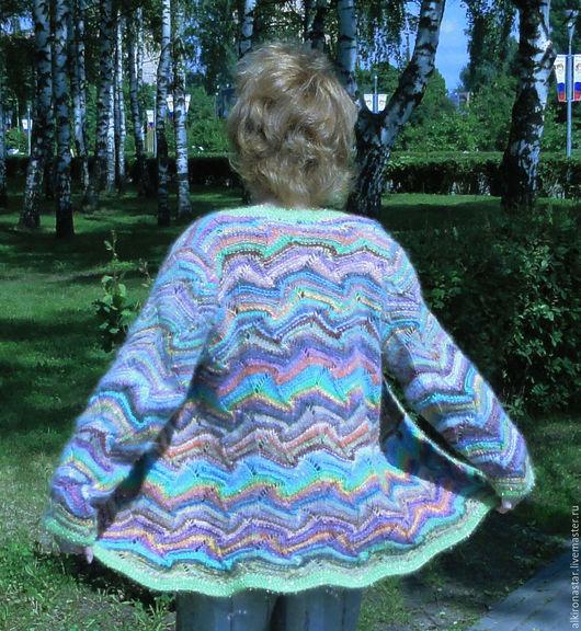 Кофты и свитера ручной работы. Ярмарка Мастеров - ручная работа. Купить Женская вязаная кофта на пуговицах  Kochoran. Handmade.