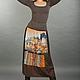 Юбки ручной работы. Ярмарка Мастеров - ручная работа. Купить Vacanze Romane-1011. Handmade. Рисунок, венеция