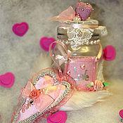 Подарки к праздникам ручной работы. Ярмарка Мастеров - ручная работа ..А чтоб любовь не улетела!!... Handmade.