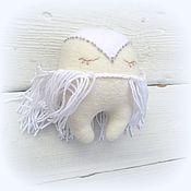 Подарки к праздникам ручной работы. Ярмарка Мастеров - ручная работа Елочное украшение - игрушка сова. Handmade.