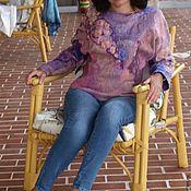 Одежда handmade. Livemaster - original item Felted blouse